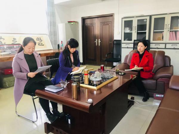 民盟市委机关集中学习习近平总书记在中央党校(国家